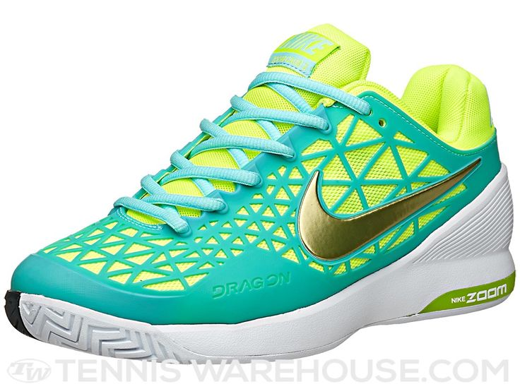 The Nike Zoom Cage 2 tennis shoes in new colors!