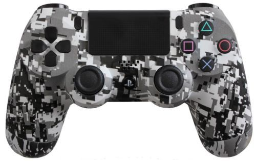 PlayStation 4 DualShock 4 Custom PS4 Controller with White Urban Shell   eBay