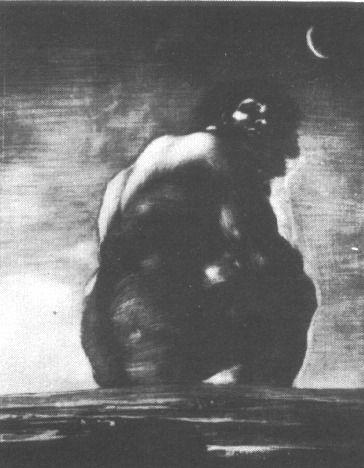 Goya _ Géant assis