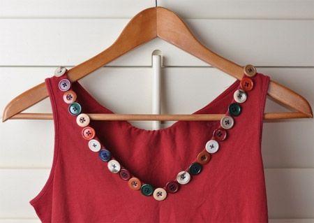 Inspiração: Botões | Coisas para usar | Diy buttons, Diy clothes, Buttons