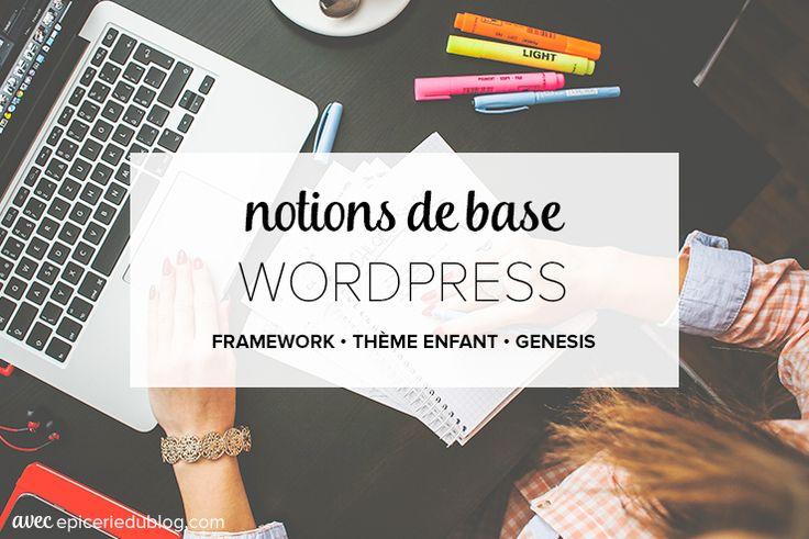 Framework #wordpress, thème enfant et #genesi                                                                                                                                                                                 Plus