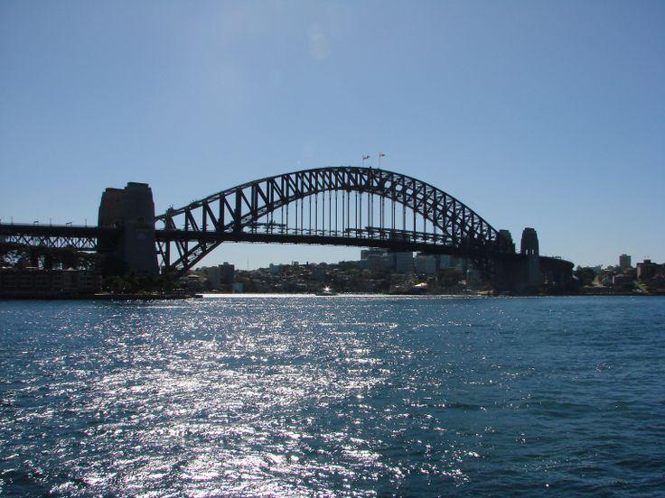 Sydney Harbour Bridge Australia. #AustraliaDayOnboard