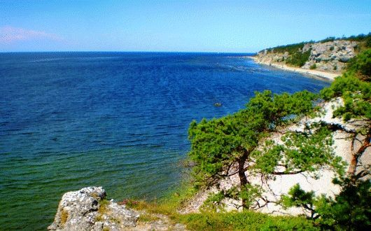 The Beaches on the Island of Gotland Sweden