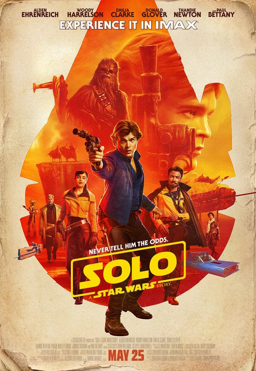 Click to View Extra Large Poster Image for Solo: A Star Wars Story | Star wars poster. Star wars movie. Star wars han solo