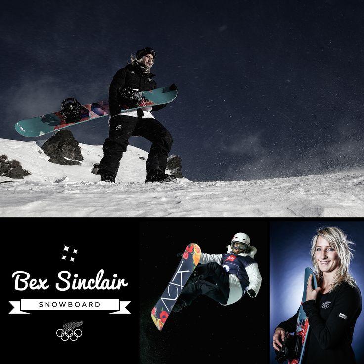 Bex Sinclair - Snowboard Halfpipe
