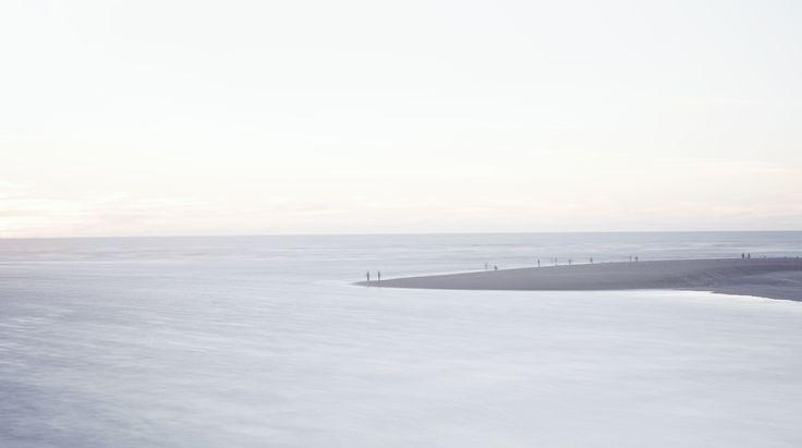 Hokitika Point, Fishing, Calm Sea, Soft Waters, Beach, NZ, West Coast, Our Land, Dan Max, NZ Art