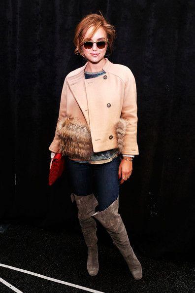 Kelly Framel - Timo Weiland Women's - Backstage- Fall 2013 Mercedes-Benz Fashion Week