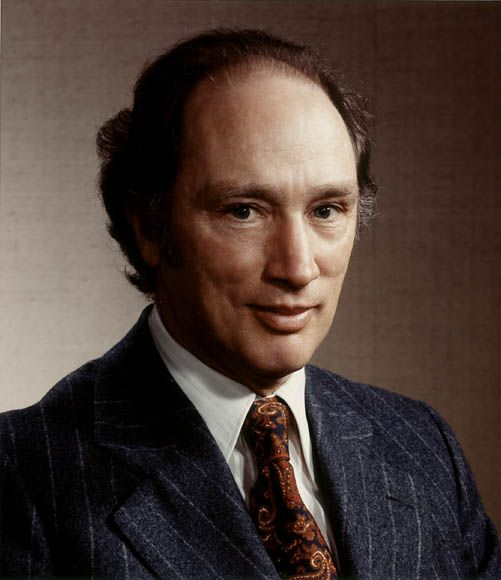 (February 18, 1980) Pierre Elliott Trudeau's liberal party wins Canada's elections.