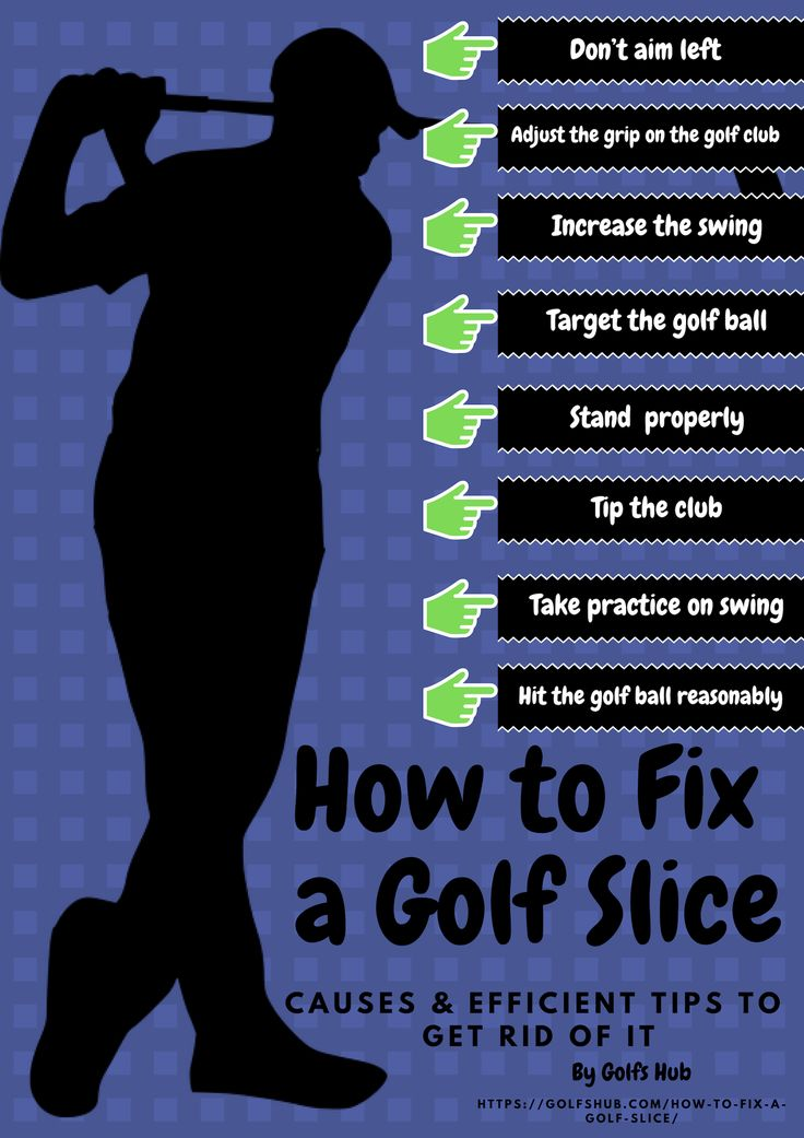 How to fix a golf slice causes efficient tips to get