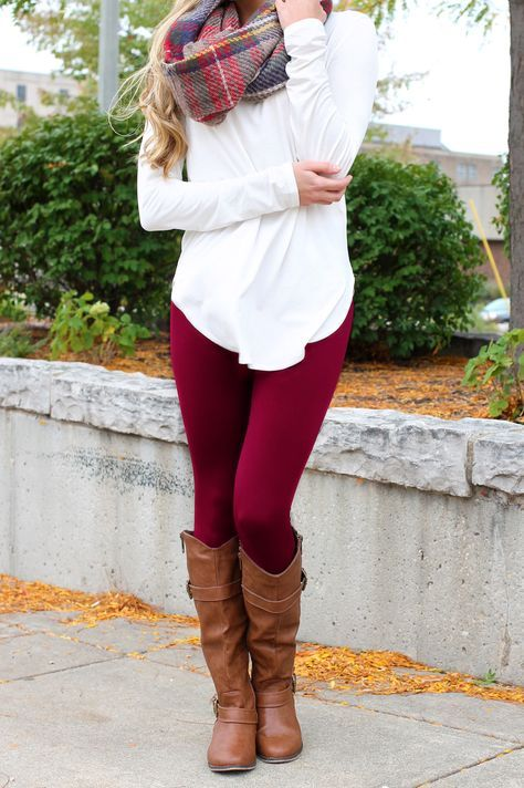 Burgundy skinny jeans                                                       …