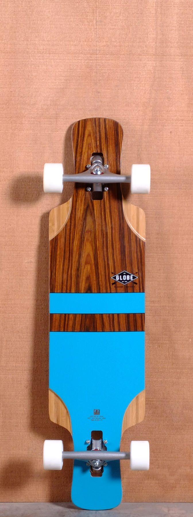 """Globe 37.5"""" Geminon FLX Longboard Complete - Aqua"""