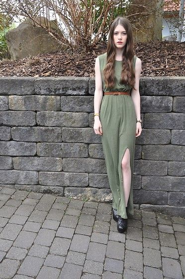 H Maxidress, H Belt, Primark Heels