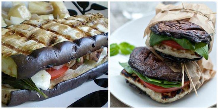 Burger essen ohne schlechtes Gewissen! Hier sind 9 richtig geniale Rezepte für gesunde Burger ohne Brot!!