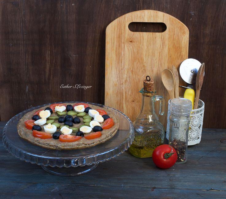 Диетическая пицца на скорую руку | Рецепты правильного питания - Эстер Слезингер