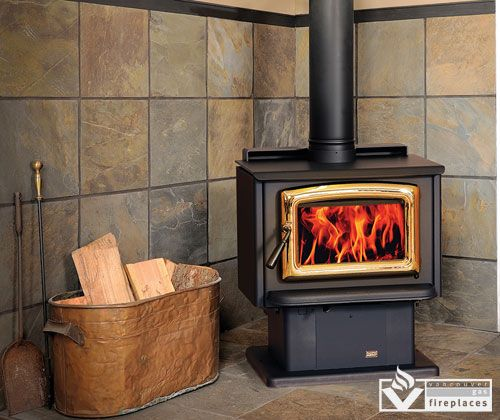 Pacific Energy Vista Freestanding Wood Stove From Vancouver Gas Fireplace.  Traditional Good Looks And Efficient