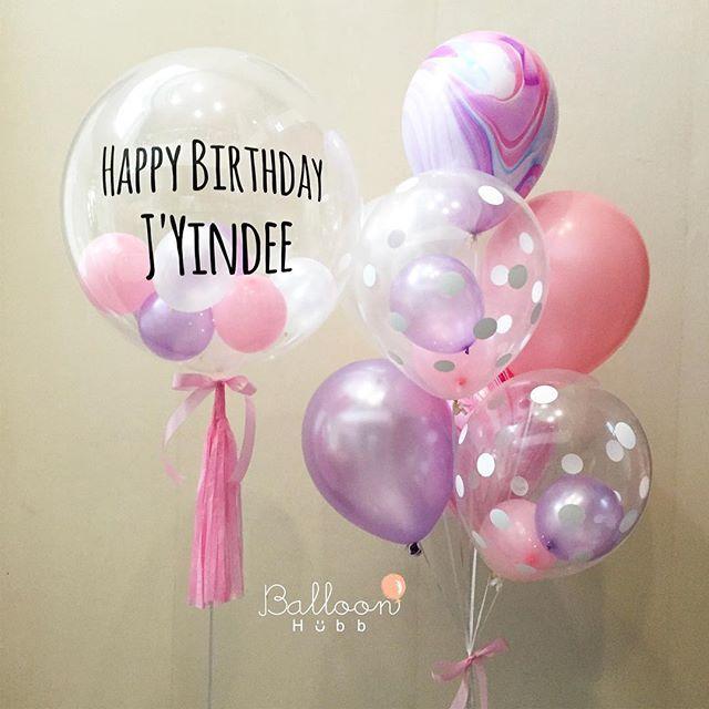 เตรียมตัวกันไว้ให้ดี เพราะเราจะไปเซอร์ไพรซ์คุณถึงที่ Happy Birthday to K.Yindee na ka ใครอยากส่งของขวัญแต่ไม่มีเวลา ไม่รู้จะให้อะไร ใช้บริการ @balloonhubb ได้นะค้า