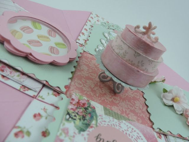 Suzanne's May Kit Project - Birthday Explosion Box  #LetThemEatCake