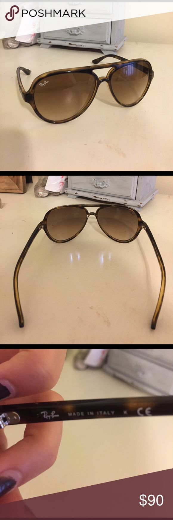 Rayban Cats 5000 Great condition, tortoise color. Ray-Ban Accessories Sunglasses