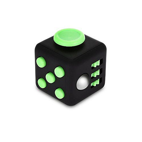 Stress Relief Fidget Cube Toy: Fidget Toy for Relaxing Therapy Cube Fidget Toy – Great Gift for Autism, ADD, ADHD – Fidget Toys for Work/Office/Home (1 PACK, White   Green). #Stress #Relief #Fidget #Cube #Toy: #Relaxing #Therapy #Great #Gift #Autism, #ADD, #ADHD #Toys #Work/Office/Home #PACK, #White #Green)