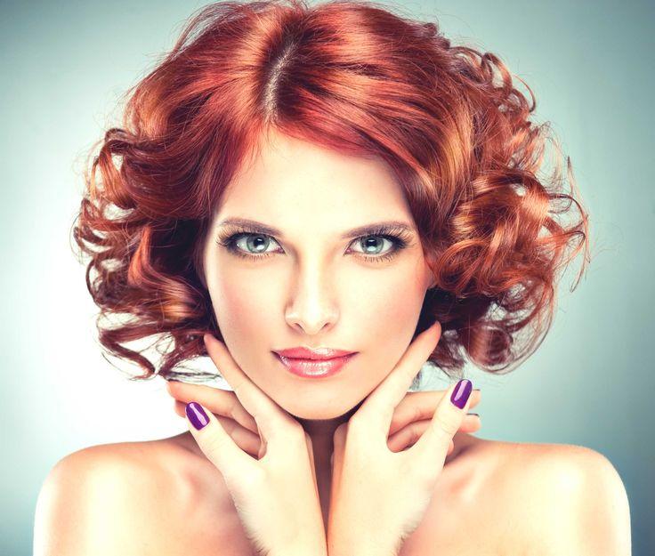 Haare farben nach einer dauerwelle