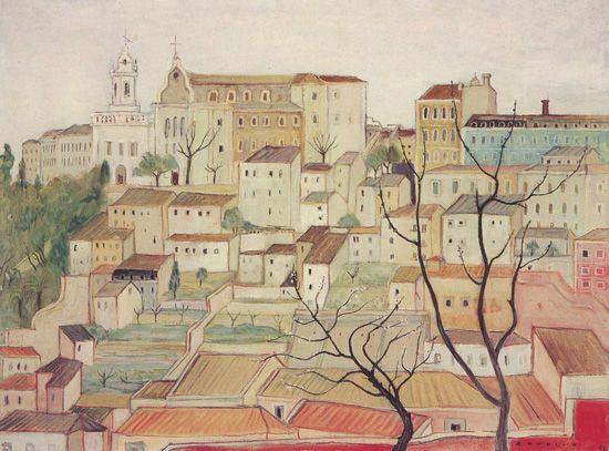 Carlos Botelho (Portuguese, 1899-1982), Lisbon, 1962.