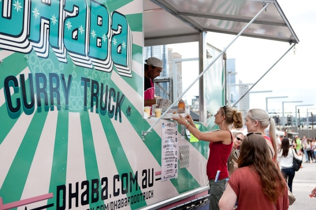 Dhaba Food Truck at Melbourne Food and Wine Festival 2012