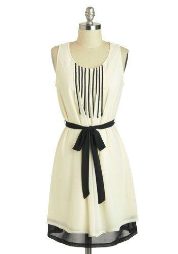 Do Re Meeting Dress, #ModCloth