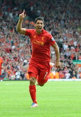 Luis Suarez of Liverpool FC