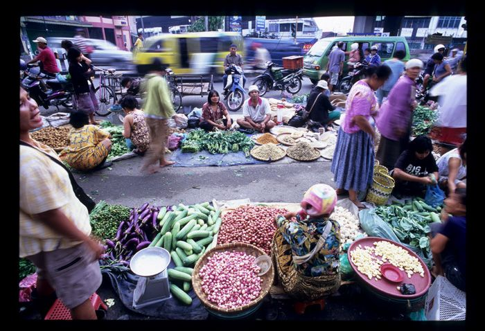 Pasar Palapa morning market. Medan, #Indonesia