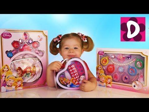 ✿ Чудо Подарки для Детей Детская Косметика Принцессы Диснея Disney Princess cosmetics MakeUp set    {{AutoHashTags}}