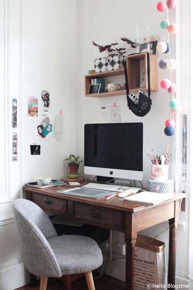 #wood #desk #workspace