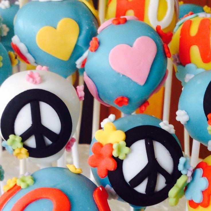 Hippies cake pops