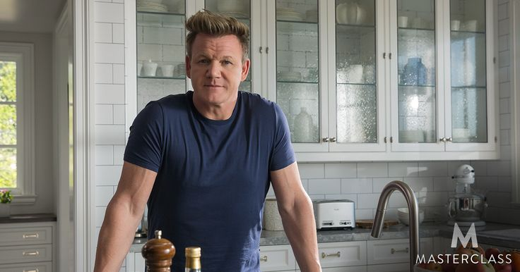 Gordon Ramsay Masterclass: teaching cooking and expertise in the kitchen.