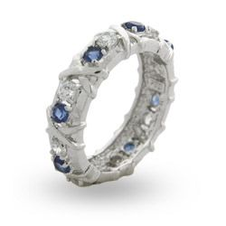 Love this saphire and diamond ring