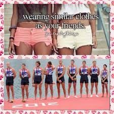 rowing crew... there is no shame in wearing unisuits