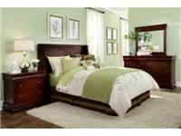 Broyhill Bedroom Hamlyn Upholstered Bed