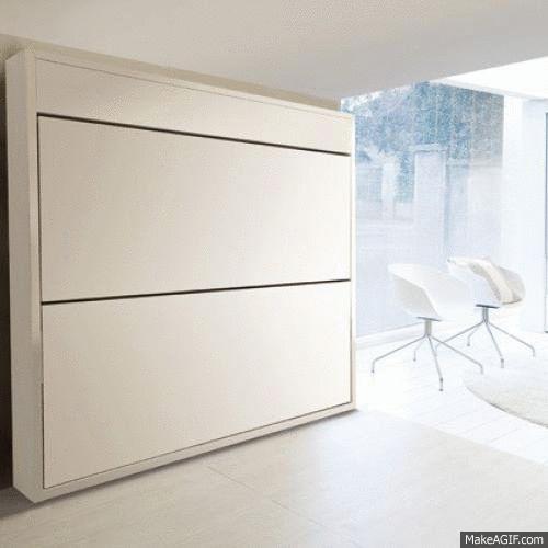 17 Cara Inventif Membuat Ruangan Kecil Jadi Lebih Hidup (Design Furniture)