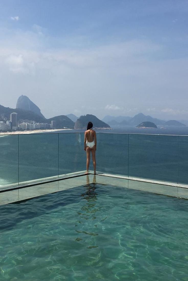 "Copacabana Beach, Brazil gabrielleagostini ""Beautiful view if the Copacabana beach in Rio de Janeiro, Brazil"""