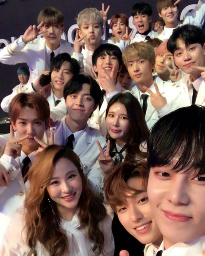 Pin By Bri On The Unit Contestants Korean Star The Unit Celebrities