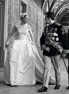Grace Kelley & Prince Rainier III of Monaco