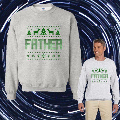 1-800 HOTLINE BLING Ugly FATHER Christmas Unisex Adult sweater Crewneck Sweatshirt