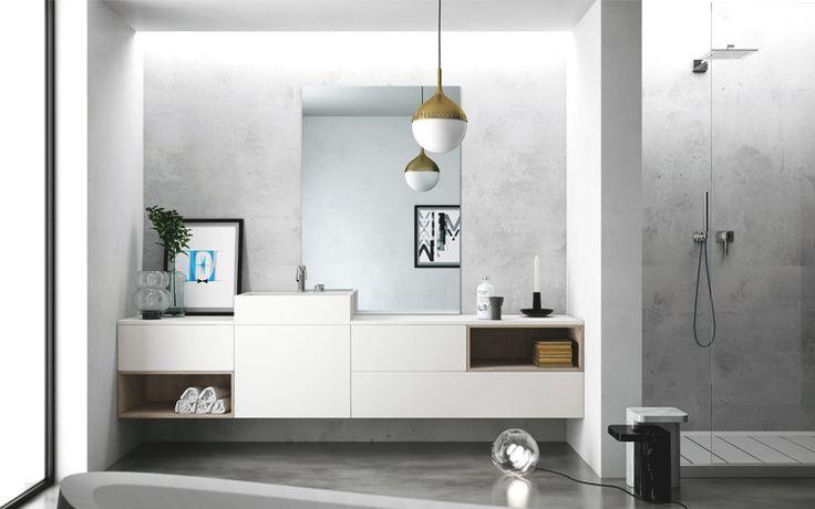 Progetto SMART nr.4 - Bagno #arredobagno #bathroom #home #design #project