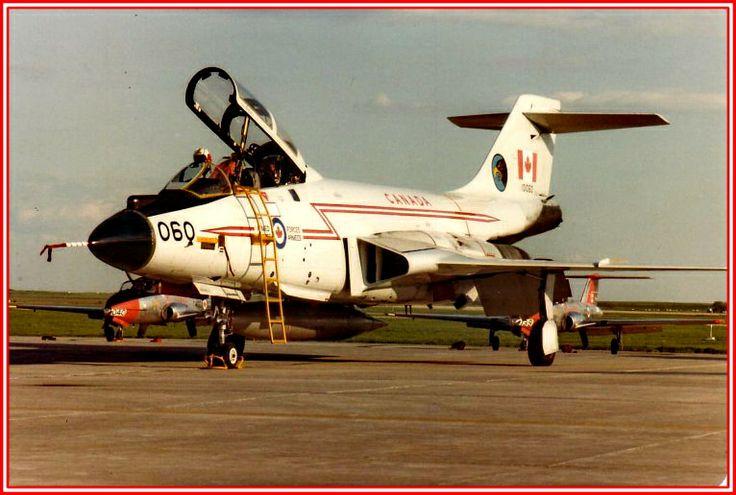 CF-101 Voodoo in standard RCAF colours.
