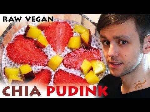 Chia pudink – nejjednodušší raw dezert - YouTube