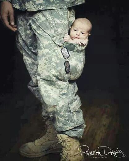 Army dad photo shoot