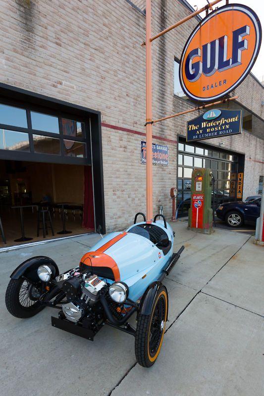 Morgan 3 wheeler 2013 - Rare Gulf Edition | eBay