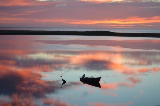 Serene Sunrise at Barachois Beach by dotttipaparazzi