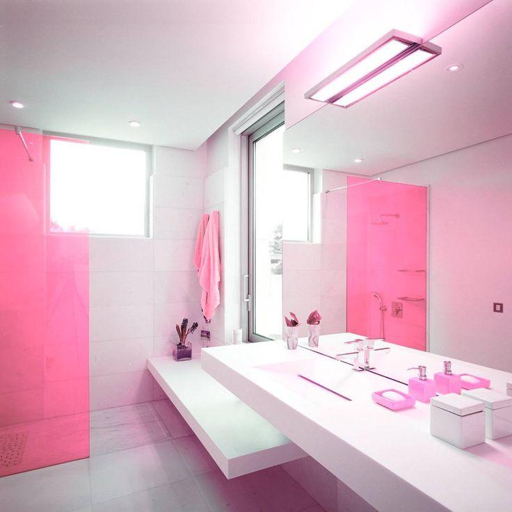 die besten 17 ideen zu contemporary pink bathrooms auf pinterest, Hause ideen