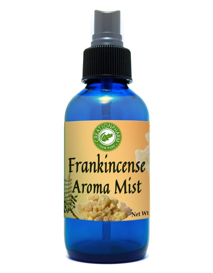 Frankincense Aroma Mist Diffuser: Diffused in Distilled Water Via a 4 Oz