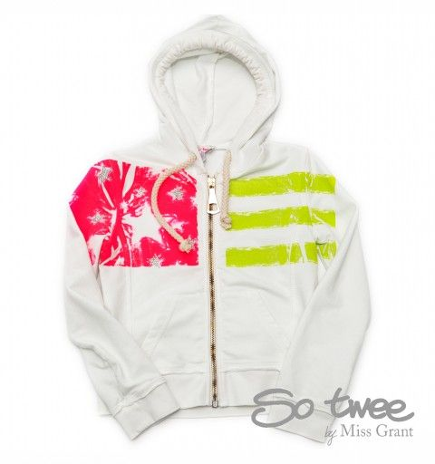 SO TWEE by #missgrant STRIPED SWEATSHIRT WITH HOOD. Sale 50% off Spring&Summer Collection! #discount